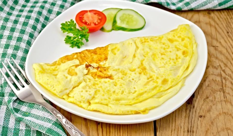 Vienkāršā rīta omlete