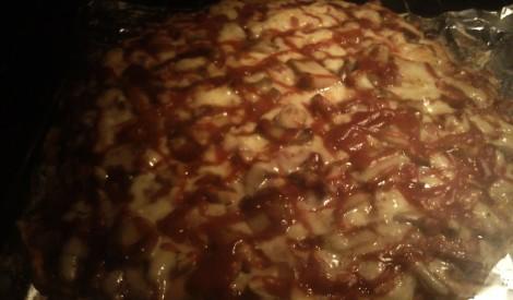 Plānā picas mīkla pie Skaidrā