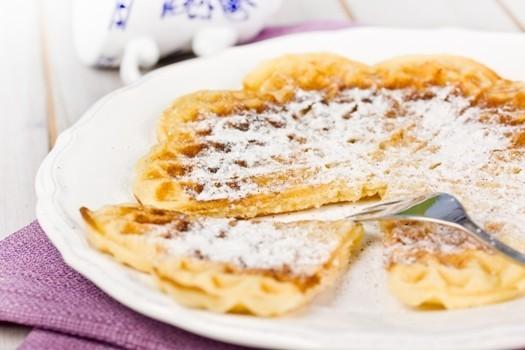 Vafeles, vācu recepte