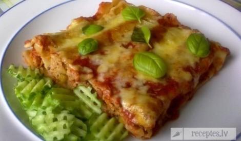 Cannelloni ar gaļas pildījumu