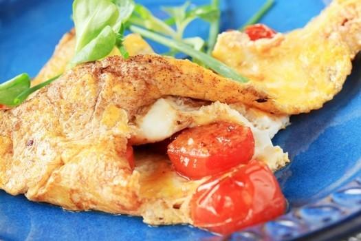 Omlete ar tomātiem
