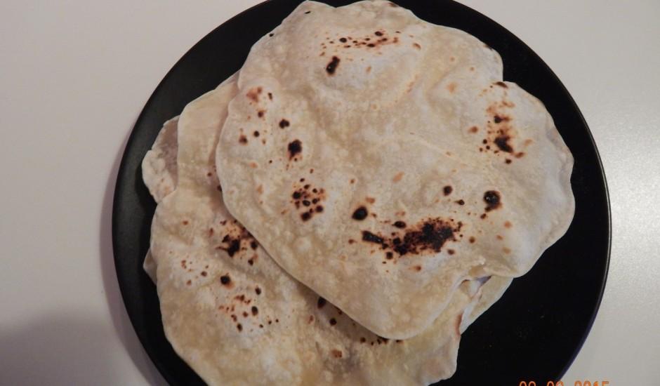 Indiešu maize (Čepati pitta)