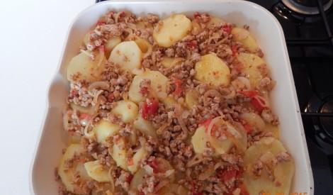 Kartupeļi ar malto gaļu no Skaidrā