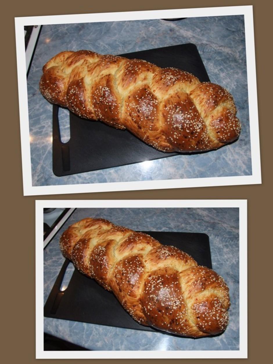 Cep 180 grādos 25 minūtes līdz maize skaisti brūna. Ļauj atd...