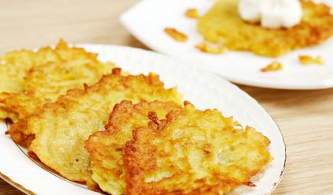 Ātrās kartupeļu pankūkas