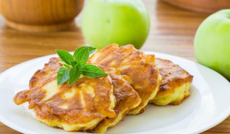 Rauga pankūkas ar āboliem