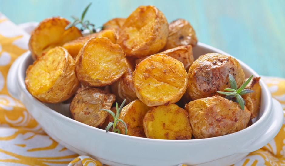 Cepešrāsnī cepti kartupeļi