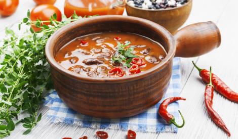 Čili - sarkano pupiņu zupa