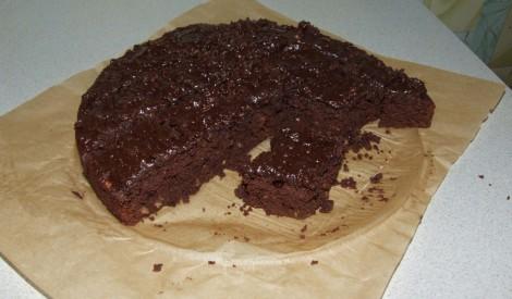 Cukini,šokolādes kūka