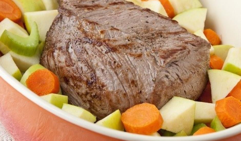 Vienkāršs liellopa gaļas cepetis