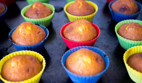 Medus kēksiņi (cupcake ar medu)