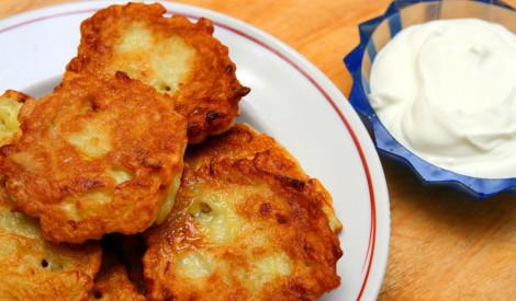 Kartupeļu pankūkas - viegli pagatavojamas