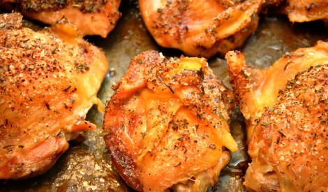 Marinētas vistas cepetis