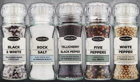 Iepazīsties - neaizstājamie - sāls un pipari!