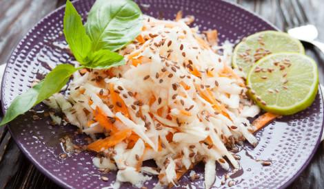 Svaigie rutka un burkānu salāti