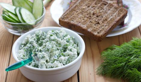 Brokastu biezpiens zaļais