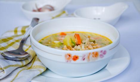 Gardākā lašu zupa