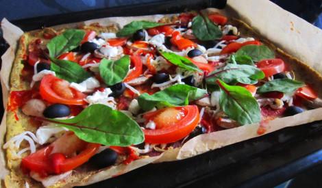 Nevainīgā puķkāpostu pica