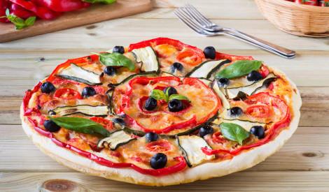 Pica ar dārzeņiem