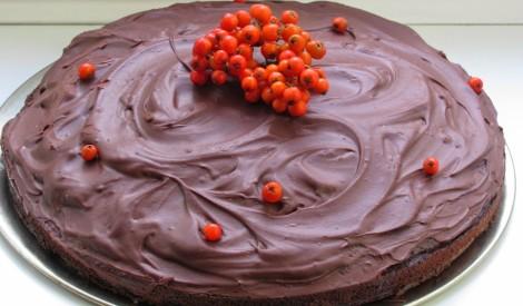 Janas vienkāršā šokolādes kūka