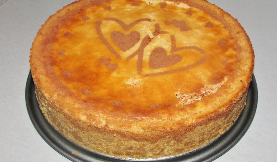 Karameļu siera kūka