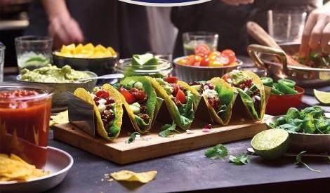 Dāvinām Tex Mex produktus neierastām maltītēm!