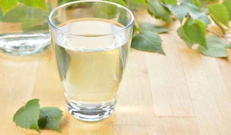 Bērzu sula ar citronu