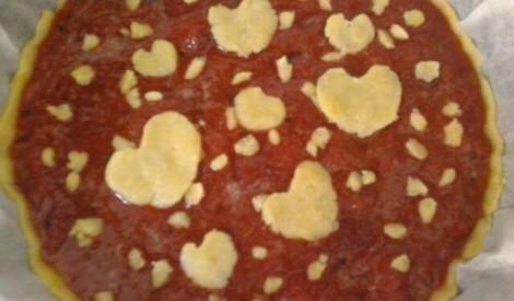 Siera kūka ar zemeņu kulīmērci