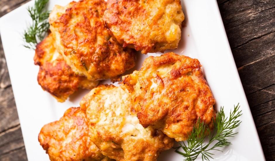 Vistas gaļas kotletes ar sieru