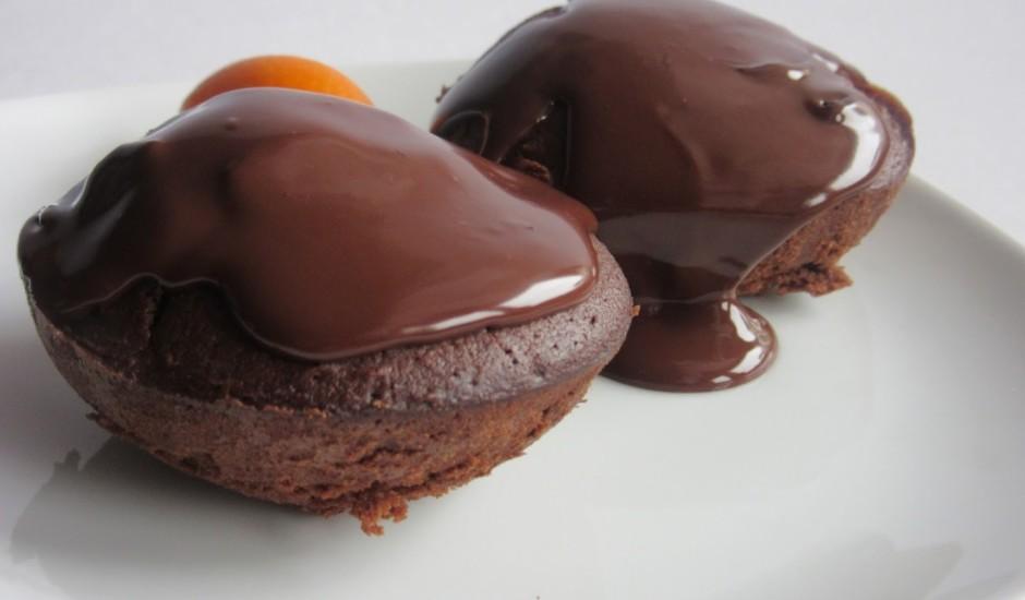 Brīnumgardie šokolādes kēksiņi