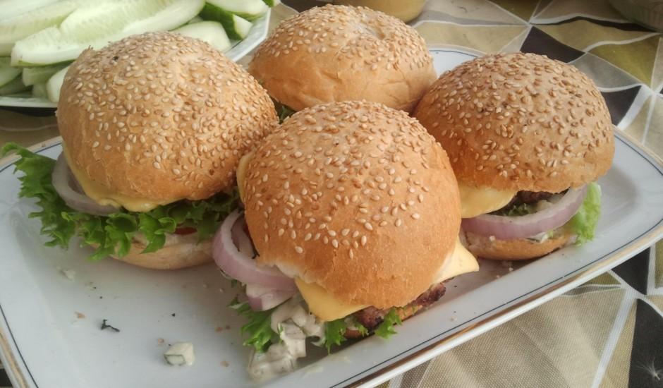 Grila hamburgeri