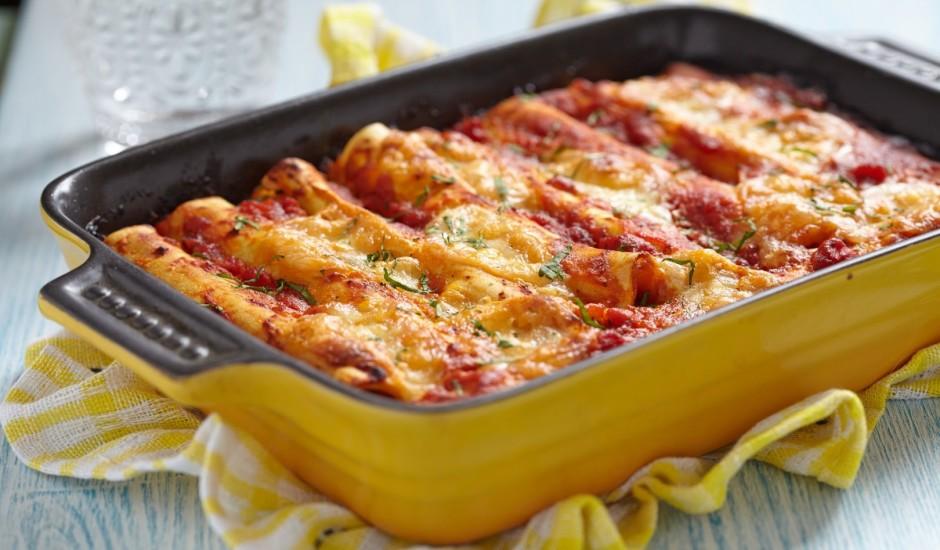 Pildītie cannelloni ar malto gaļu