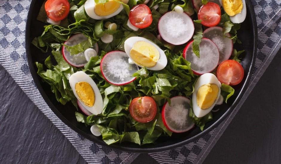 Skābeņu laika salāti