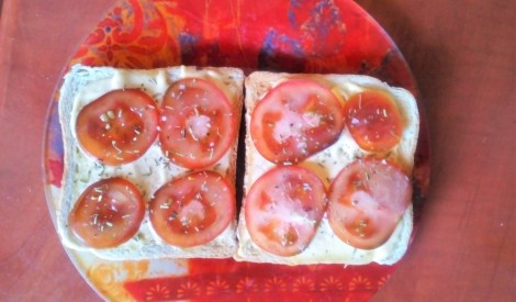 Gardās tomāttostermaizes