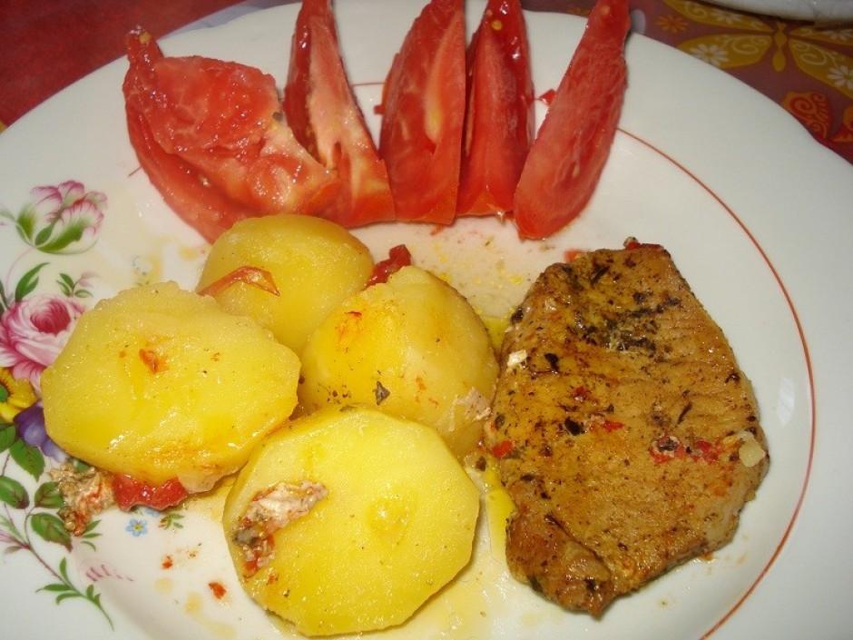 P.S. Var pievienot arī kartupeļus, laiku pa laikam aplejot a...