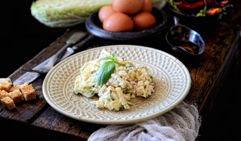Svaigie ķīnas kāposta salātiņi