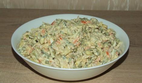 Gaļas salāti- mana versija