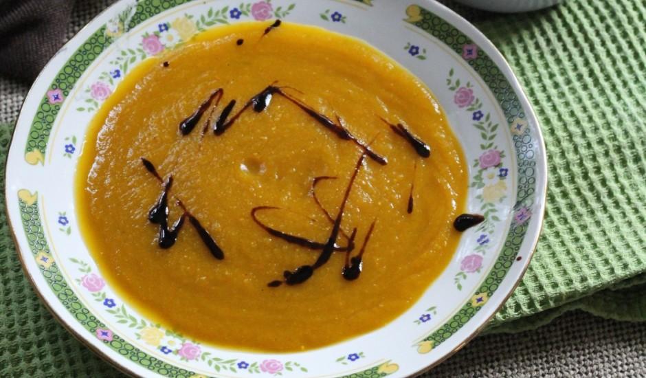 Burkānu - batāšu zupa ar rozmarīnu