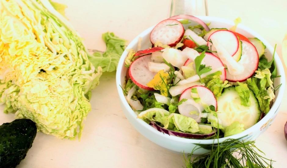Veselīgie dārzeņu salāti