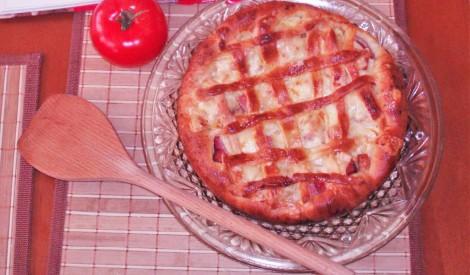 Tomātu pīrāgs