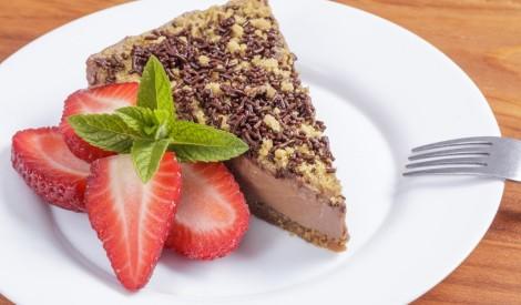 Šokolādes siera kūka