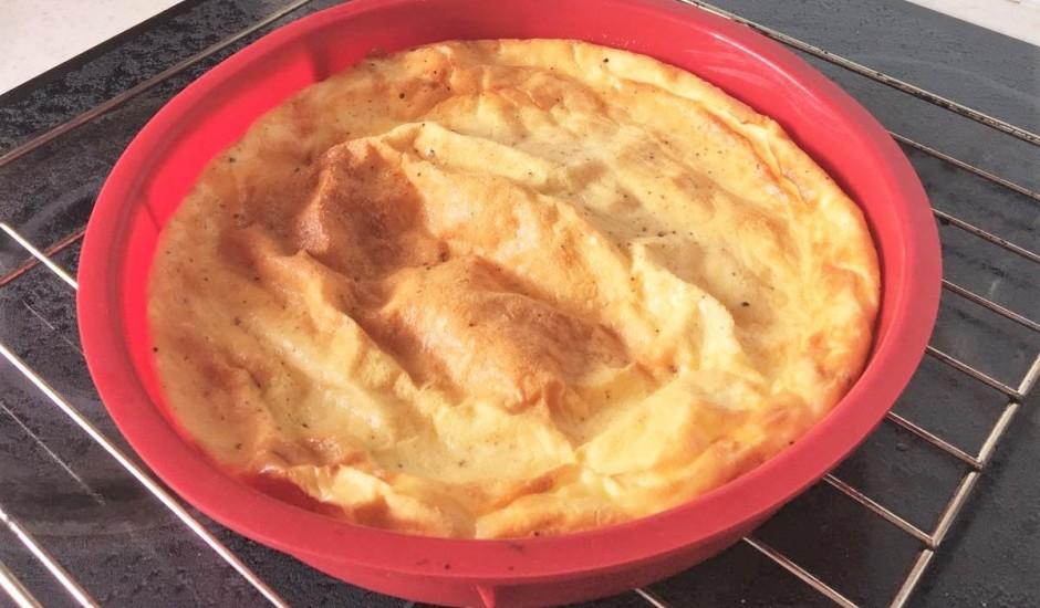 Ātrā omlete krāsnī