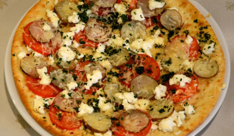 Pica ar topinambūriem