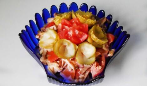 Pikantie siržu salāti