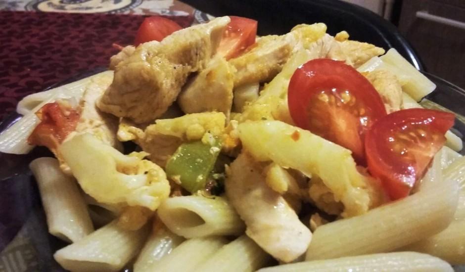 Asie vistas filejas gabaliņi ar dārzeņiem