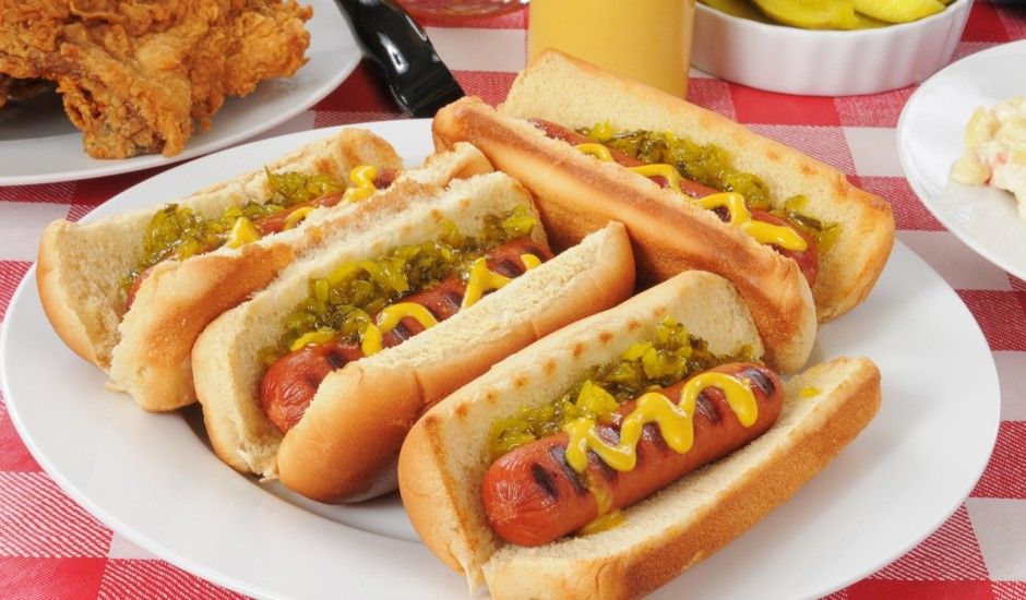Mājas hotdogi