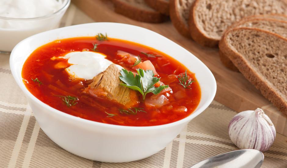 Borščs pēc senas Maskavas receptes