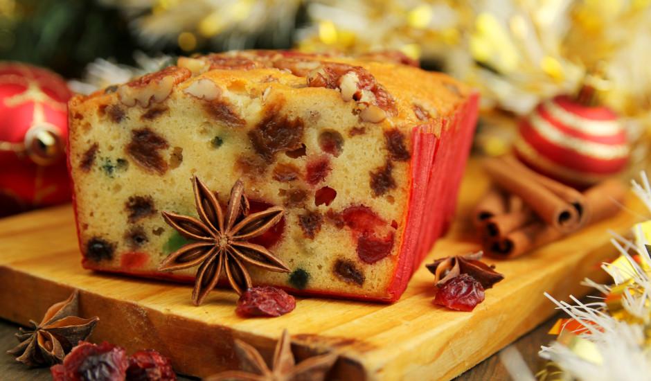 Adventes augļu kūka