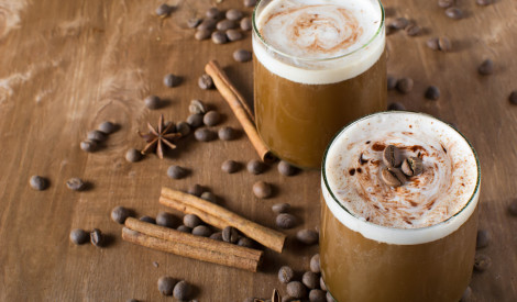 Karsta kanēļa kafija