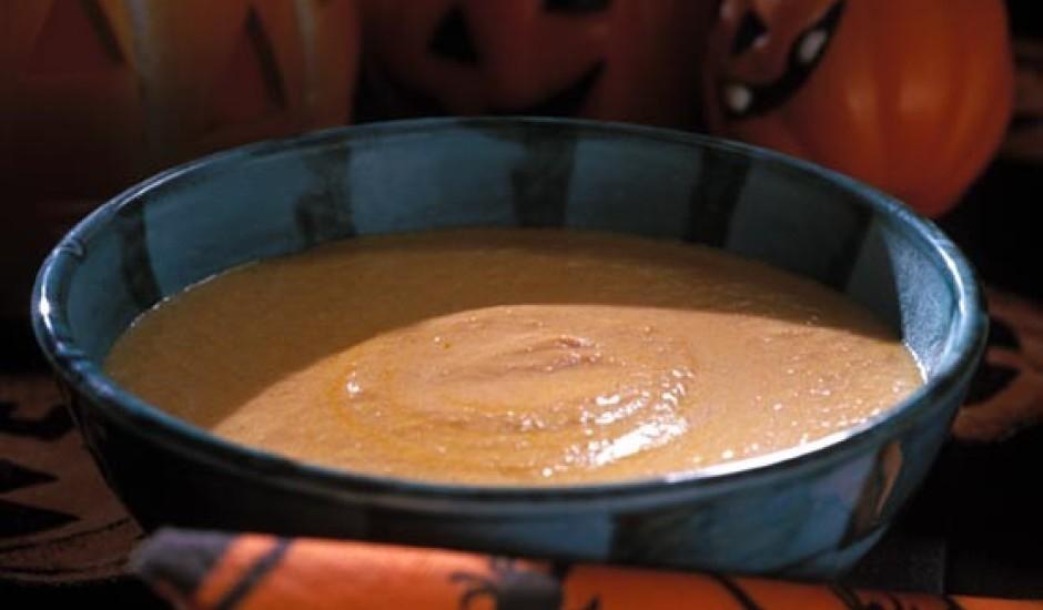 Ķirbju zupa ar niedru cukuru